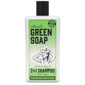 Šampūnas MARCELS GREEN SOAP su tonka pupelėmis ir pakalnutėmis, 500 ml