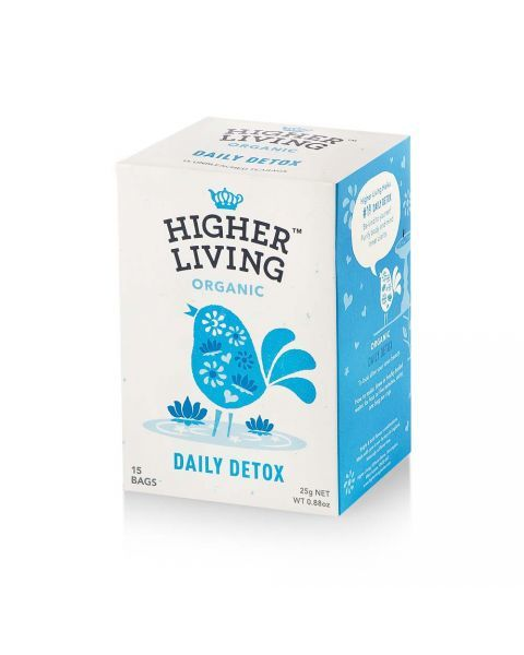 Ekologiška arbata HIGHER LIVING DAILY DETOX 25g