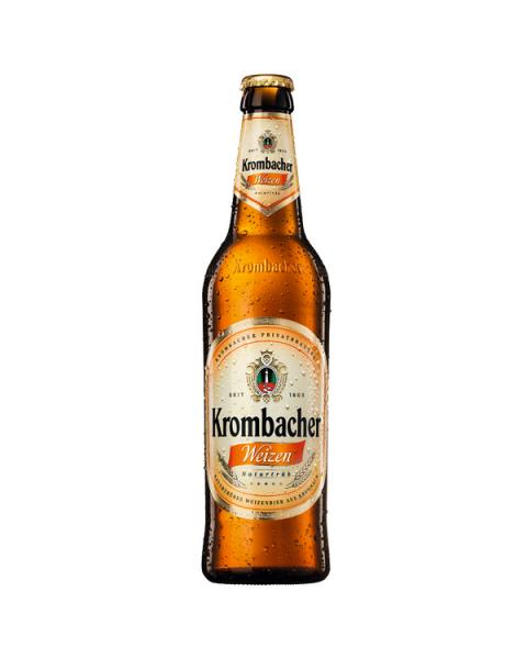 """Kvietinis alus """"Krombacher Weizen"""" 5,3% butelis 0,5L"""