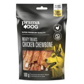 Skanėstas šunims PRIMA DOG vištienos file kramtalas, 100 g