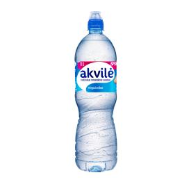 Negazuotas natūralus mineralinis vanduo AKVILĖ Sport, 1L