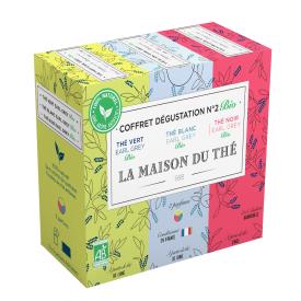 Arbatos rinkinys Nr. 2 LA MAISON DU THE, 15 maišelių