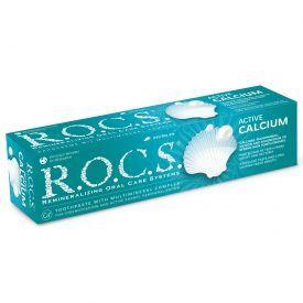 Dantų pasta R.O.C.S.Active Calcium, 94g.