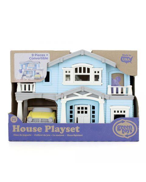 """Žaislų rinkinys """"Žydras namas"""" GREEN TOYS ™ (10 dalių), 1 vnt. 2"""