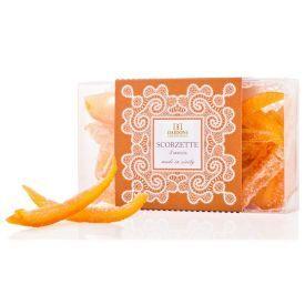 Cukruotos apelsinų žievelės DAIDONE rankų darbo, 200 g
