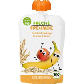 Ekologiška abrikosų ir bananų tyrelė FRECHE FREUNDE, 100 g