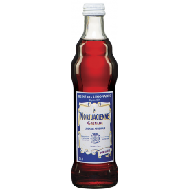 Gazuotas gaivusis gėrimas LA MORTUACIENNE, granatų skonio, 330 ml