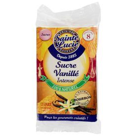 Vanilinis rudasis cukrus SAINTE LUCIE, su Bourbon vanilės ekstraktu, 37,5 g