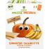 Ekologiški trapučiai FRECHE FREUNDE su bananais ir moliūgais, 84 g