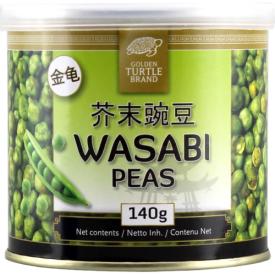 Žirniai GOLDEN TURTLE wasabi apvalkale, 140g