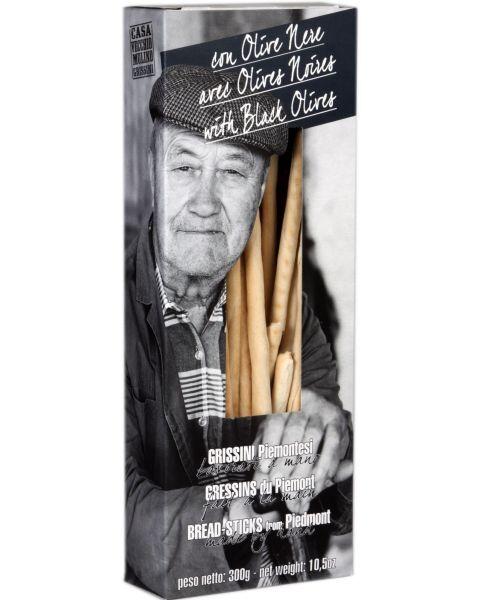 Duonos lazdelės su alyvuogėmis CASA VECCHIO 300g