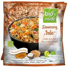 """Veganiškas lešių patiekalas """"India"""" BIO INSIDE, ekologiškas, 400g"""