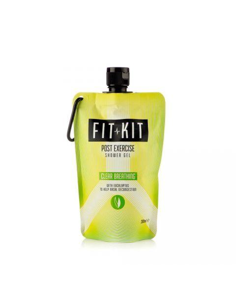 Dušo gelis lengvinantis kvepavimą FIT KIT su eukaliptu, 200 ml