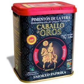 Aštri paprika CABALLO de OROS, 75 g