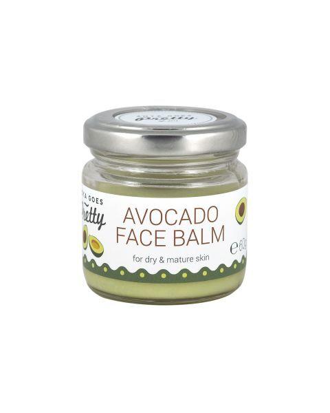 Ekologiškas drėkinantis veido balzamas sausai odai su avokadų ekstraktu ZOYA GOES PRETTY, 60 g