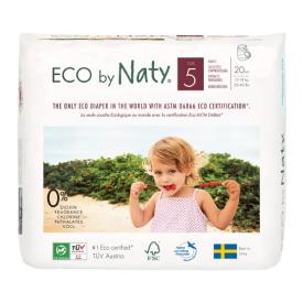 Sauskelnės-kelnaitės EKO by NATY, 5 Junior 12-18 kg, 20 vnt.