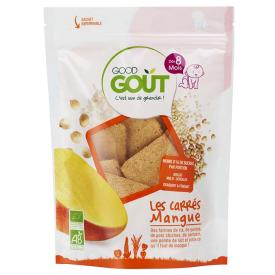 Ekologiški duoniukai GOOD GOUT mangų skonio, 50g., nuo 8 mėnesių