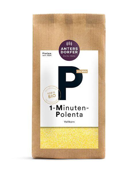Ekologiška 1 minutės polenta ANTERSDORFER (pilno grūdo), 500 g