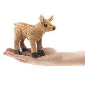 """Minkštas piršto žaisliukas FOLKMANIS® """"Stirniukas"""" (12 cm), 1 vnt."""