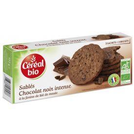 Šokoladiniai sausainiai CEREAL BIO, 132 g