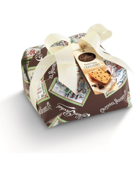 Šokoladinis panettone pyragas CAFFAREL, 1 kg