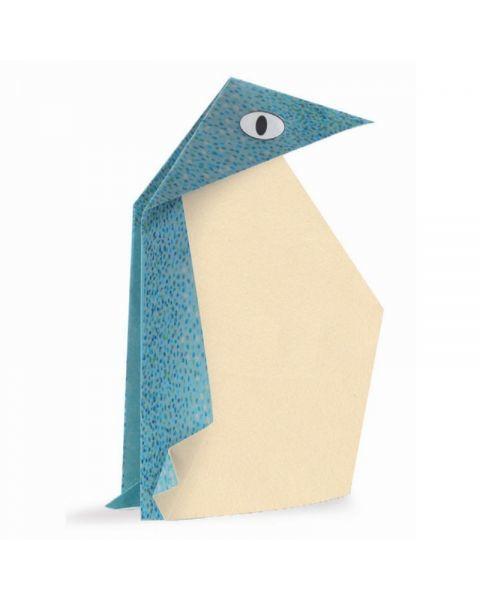 Žaismingas origami DJECO Poliariniai Gyvūnai 5-10 metų vaikams (DJ08777) 2