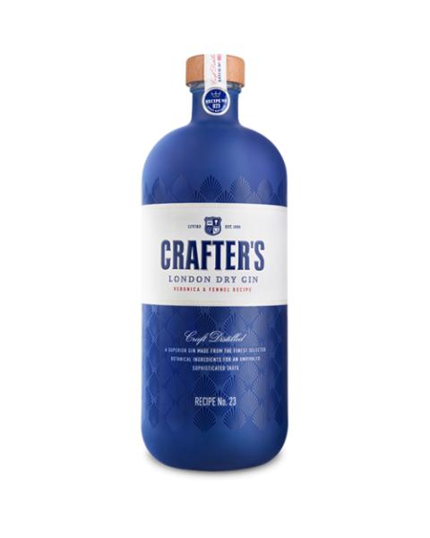 Džinas CRAFTER'S London Dry 43%, 700 ml