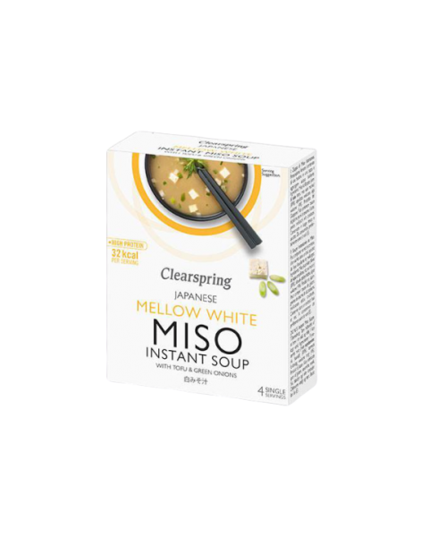 Mellow White Miso sriuba CLEARSPRING, 4*10g
