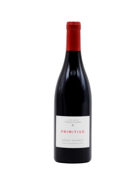 Biodinaminis raudonas sausas vynas Francesco Marra Primitivo 2016 15%, 750 ml