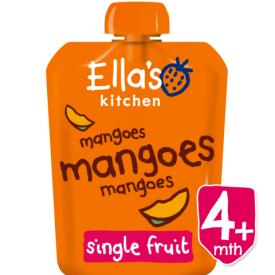 Ekologiška mangų tyrelė ELLA'S KITCHEN kūdikiams nuo 4 mėn., 90 g