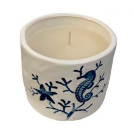CANDELE FIRENZE porceliano žvakė didelė, 70 h, 1 vnt