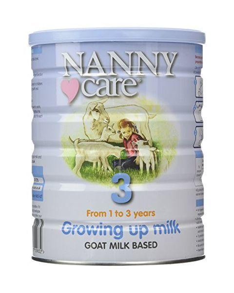 Tolesnio maitinimo ožkos pieno mišinys NANNY vaikams nuo 12 mėn iki 36 mėn., 400 g
