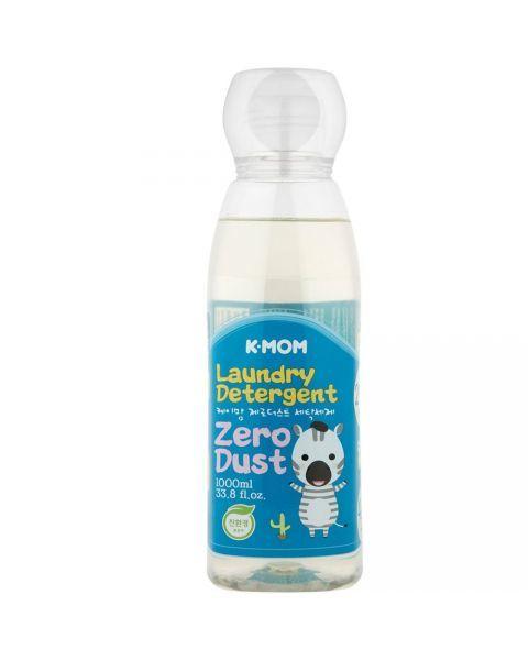 Ekologiškas skalbinių ploviklis K-MOM Zero Dust muilo kvapo, 1000ml.