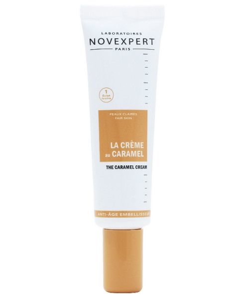 Lyginantis odą BB kremas veidui NOVEXPERT su spalva Caramel Nr. 1 (šviesiai odai), 30 ml