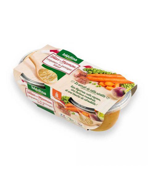 Jautiena su daržovėmis BLEDINA nuo 8 mėn., 2x200 g
