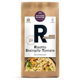 """Ekologiškas rizoto su grybais """"Porcini"""" ir pomidorais ANTERSDORFER, 150 g"""