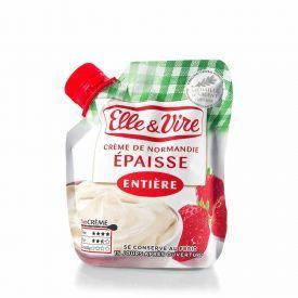 Nenugriebto pieno grietinė ELLE & VIRE, 324g