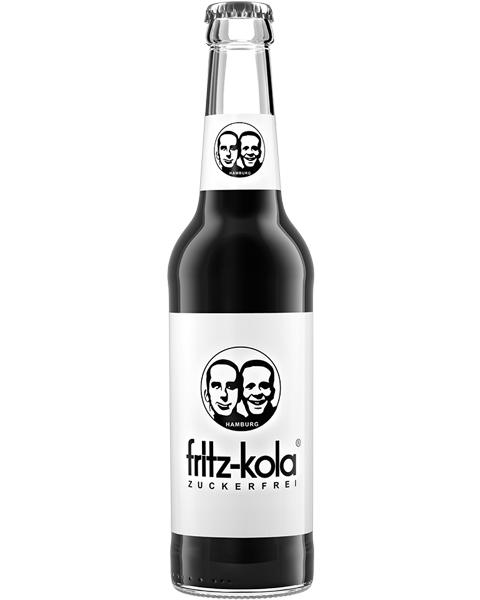Gazuotas kolos gėrimas be cukraus FRITZ-KOLA, 330ml