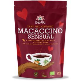 Ekologiškas gėrimas Macaccino Sensual ISWARI, 250g