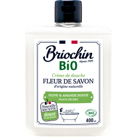 Dušo želė BRIOCHIN alyvuogių aliejaus ir saldžių migdolų kvapo, 400ml