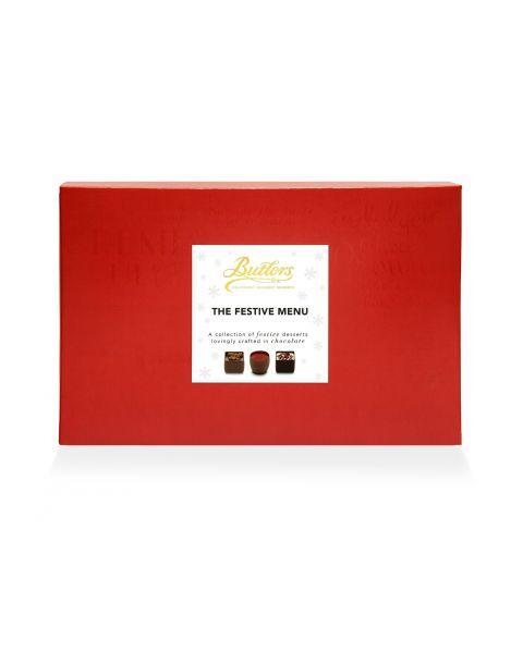 Šventinis šokoladinių saldainių rinkinys BUTLERS, 260 g