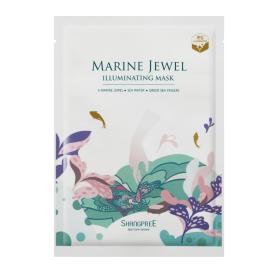 Skaistinamoji veido kaukė su žaliųjų jūros kempinių ekstraktu SHANGPREE Marine Jewel (30 ml), 1 vnt.