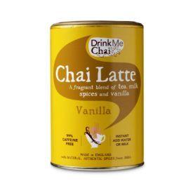 Karštas gėrimas iš saldintos arbatos, pieno ir kreminės vanilės CHAI LATTE DRINK ME CHAI, 250 g