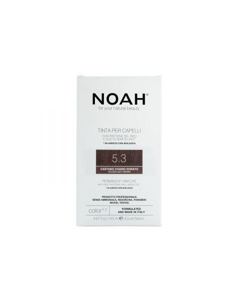 Plaukų dažai NOAH 5.3 auksinė ruda, 140 ml