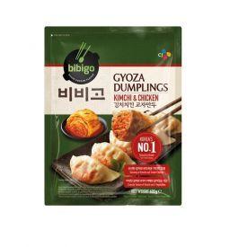GYOZA koldūnai su kimchi ir vištiena BIBIGO, šaldyti, 600g