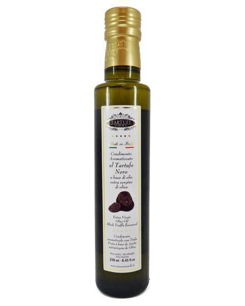 Juodųjų trumų skonio alyvuogių aliejus TARTUFI JIMMY, 250 ml
