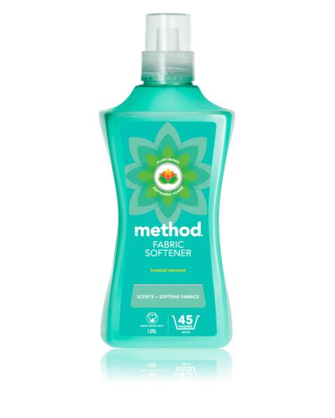 Audinių minkštiklis METHOD, tropinių kokosų aromato, 1,56 l