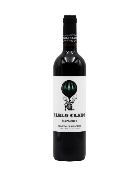 Vynas Pablo Claro Tempranillo 2017 13,5%, 750 ml