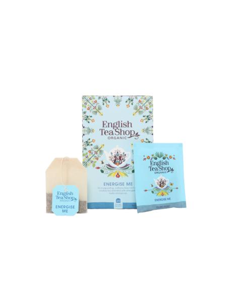 Ekologiška arbata ENGLISH TEA SHOP Energise Me , 20 maišelių 2