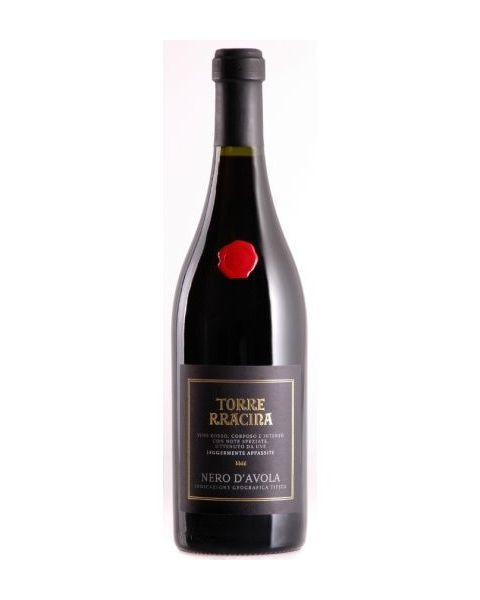 Raudonas pusiau sausas vynas Torre Rracina Nero D'Avola Terre Siciliane IGT 13,5%, 750ml